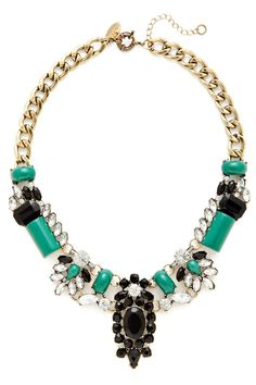 Couture statement necklace