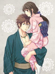 Nagakura Shinpachi et Yukimura Chizuru - Hakuouki
