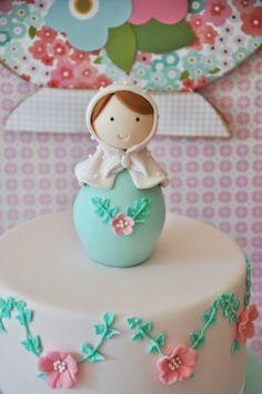 Matryoshka Doll Themed Birthday Party via Kara's Party Ideas KarasPartyIdeas.com #matryoshka #matryoshkadoll #girlpartyideas #dollparty #matryoshkacake (10)