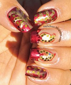 My Nail Files: Celebrating the Festival of Lights with Nail Art - #diwali