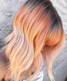 Smoked Peach Hair Is About to be EVERYWHERE This Summer