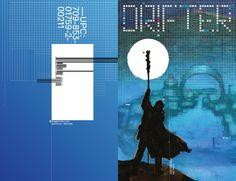 DRIFTER #2 cover design, artwork by Nic Klein.