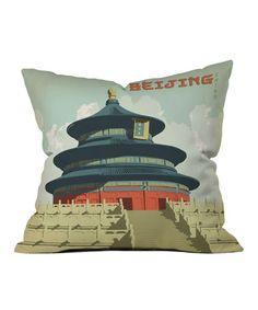 This 'Beijing' Throw Pillow is perfect! #zulilyfinds
