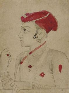Sulaiman Shikoh, a son of Dara Shikoh; Mughal period, later 1600's
