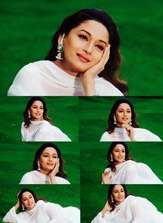 Madhuri Dixit in Dil To Pagal Hai - my favourite Hindi movie. Bollywood Makeup, Bollywood Suits, Bollywood Fashion, Bollywood Actress, Lovely Girl Image, Girls Image, Madhuri Dixit Hot, Bollywood Masala, Preity Zinta