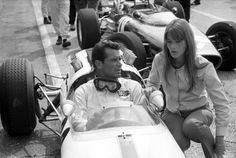 """Grand Prix""- James Garner, Françoise Hardy- 1966. Explore paulmacca's photos on Photobucket."