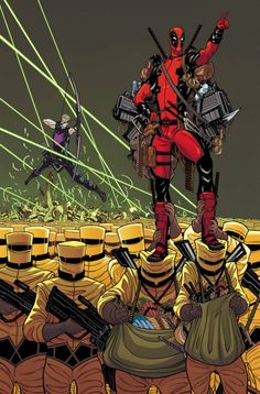 Secret Avengers #7 - Deadpool by Tradd Moore *