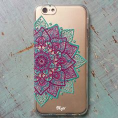 MÁNDALA MEDIO TRIANGULO Coque Iphone, Phone Covers, Iphone Cases, Custom Cases, Headphones, Backgrounds, Apple, Technology, Cute Photos