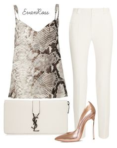 Untitled #475 by irunaftergucci on Polyvore featuring polyvore fashion style River Island Roland Mouret Casadei Yves Saint Laurent women's clothing women's fashion women female woman misses juniors