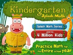 Splash Math Kindergarten by StudyPad ($4.99)