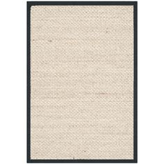 Natural Fiber Marble/Black 2 ft. x 3 ft. Area Rug