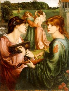 ROSSETTI The Bower Meadow: