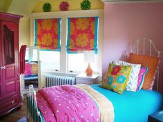 Colorful Teen Bedrooms