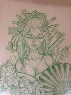 Japanese Warrior Tattoo, Japanese Tattoo Art, Japanese Sleeve Tattoos, Full Sleeve Tattoos, Mädchen Tattoo, Tatoo Art, Body Art Tattoos, Samoan Tattoo, Polynesian Tattoos