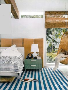 Ione Sky's bedroom from Domino Mag