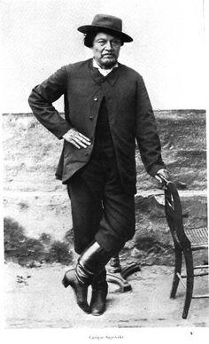 Cacique Valentín Sayhueque, lider de las tribus de la Cordillera neuquina, fue el último jefe en rendirse, el 1ro de enero de 1885