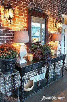 Outdoor Living Spaces - Jennifer Decorates.com