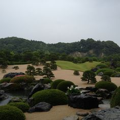 Japanese Garden; Adachi Museum, Shimane, JAPAN