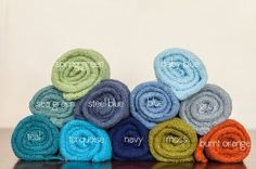 Love these stretch wraps for newborn sessions. They help keep the babies nice and sleepy. Lots of color choices!    http://www.michellesprouse.com/product/newborn-stretch-wraps/