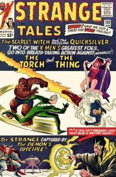 Stranger Tales #128 (Jan 1965)