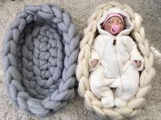 Excited to share this item from my shop: Chunky knit Baby n Chunky Knit Throw, Chunky Blanket, Chunky Yarn, Chunky Knits, Hand Knit Blanket, Knit Pillow, Knit Rug, Baby Bassinet, Arm Knitting