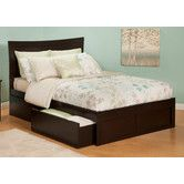 found it at wayfair atlantic furniture urban lifestyle metro bed with bed drawers set