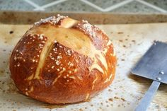 Pretzel Bread.....I know I already pinned this but damn if I can find the stupid pin.