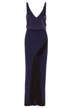 Cool Amazing Galvan Navy Blue Black Women's Size 4 Slit V-Neck Gown Dress $1450- #361 2018 Check more at http://24myshop.tk/my-desires/amazing-galvan-navy-blue-black-womens-size-4-slit-v-neck-gown-dress-1450-361-2018/
