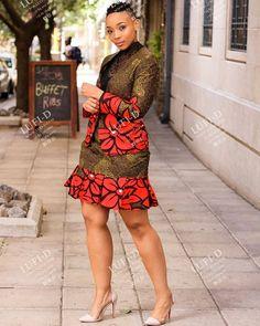 Ankara Dress, Ankara Smocked tube top and Kimono Jacket, African Print Outfits - beerboarding African Fashion Ankara, Latest African Fashion Dresses, African Print Fashion, Africa Fashion, African Style, African Ankara Styles, African Men, Short African Dresses, African Print Dresses