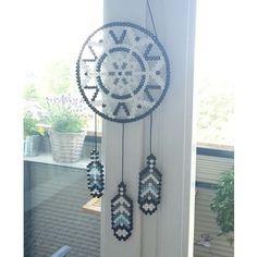 Dreamcatcher hama beads by pysseldesign