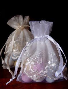 Lace Favor Bags