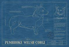 Pembroke-Welsh-Print