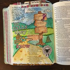 Isaiah 42:16. He leads me on paths I do not know. #myinspirebible