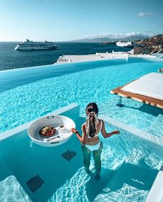"""Resortgram on Instagram: """"Who would you invite to the most followed hotel in the world? Tag them below @cavotagoomykonos 🇬🇷 #resortgram / @resortgram Link in Bio…"""" Need A Vacation, Vacation Deals, Vacation Destinations, Italy Vacation, Places To Travel, Places To Go, Travel Stuff, Cavo Tagoo Mykonos, Mykonos Greece"""