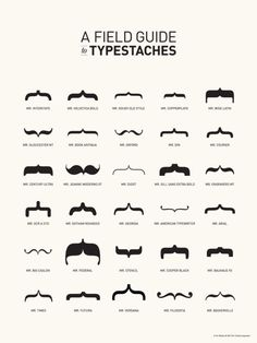 typestaches are awesome