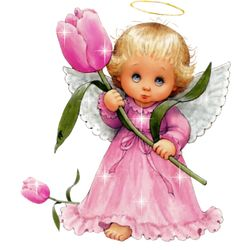 ❤️Little Angels Angel Images, Angel Pictures, Cute Pictures, Gifs, Baby Engel, Glitter Gif, Glitter Graphics, Guardian Angels, Pink Tulips