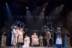 The Cast and Company of THE SECRET GARDEN at TheatreWorks.
