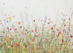 Latest Original Oil Artwork & Paintings by UK Flower Artist Yvonne Coomber #wallart #fineart for interiors