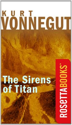 The Sirens of Titan  by Kurt Vonnegut ($7.25) http://www.amazon.com/exec/obidos/ASIN/B003XREM5G/hpb2-20/ASIN/B003XREM5G You know, I just love how every single time I read the back of a Kurt Vonnegut book, The whole plot doesn't come till the very end. - I enjoyed the plot, the settings, the characters, and Vonnegut's writing style was most excellent as well. - Even if you are not a fan of Sci-Fi I highly recommend this book.