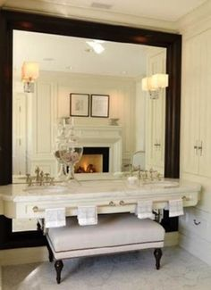 Love the large mirror!!!!