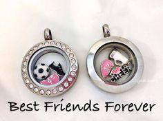 Best Friends Locket Plain Locket $20 / Locket w/ Crystals $24 / Charms $5 each www.stephs.origamiowl.com