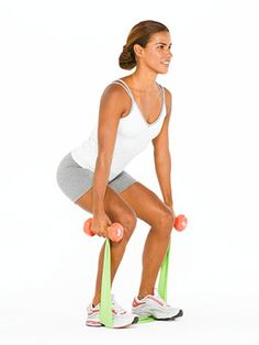 TONE UP WITH RESISTANCE BANDS | Top trainers put together a toning workout featuring a resistance band so you can get lean.
