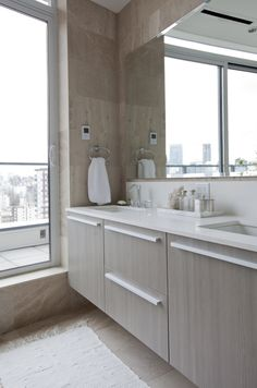 The Home Tour: A Pretty, Feminine Condo in Vancouver's West End - Western Living Magazine Living Magazine, West End, Interior Design Services, Double Vanity, House Tours, Condo, Pretty, Modern, Stylish
