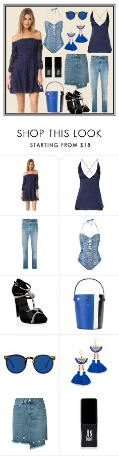 """""""Fashion House"""" by cate-jennifer ❤ liked on Polyvore featuring BB Dakota, Dion Lee, RE/DONE, Mara Hoffman, Pierre Hardy, Perrin, Spitfire, Shashi, rag & bone/JEAN and JINsoon"""