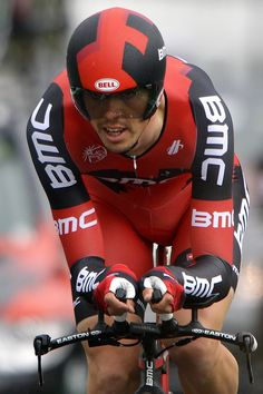 Great picture of Steve Morabito in the Tour de Romandie prologue