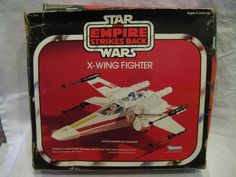 kenner star wars x-wing fighter vintage ship empire strikes back 80s toy esb box from $99.0