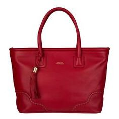 I love red bags -- I wonder how well this one would hold up?