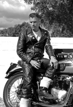 British Cafe Racer. They call them ROCKERS due to the throw-back 50's look they sport in their clothing.