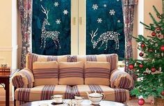 Декорируем окна к Новому Год. Обсуждение на LiveInternet - Российский Сервис Онлайн-Дневников