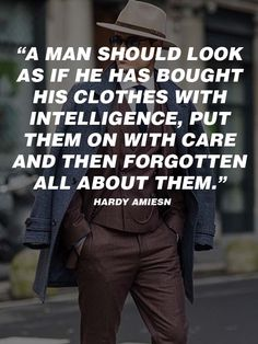 Men's Fashion Quotes  #Quotes #mens #fashion